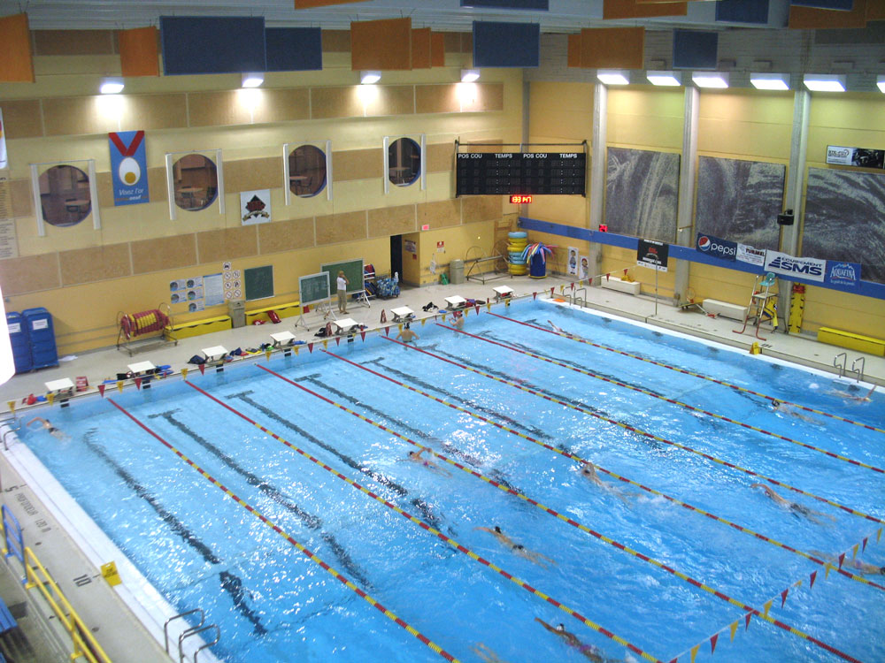 R fection de piscines int rieures for Piscine universite laval